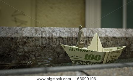 The Steadfast Tin Soldier business concept background photo