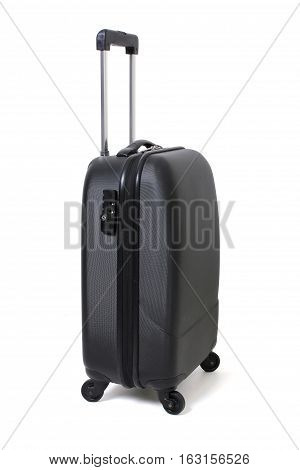 Cabin Luggage on an Isolated White Background