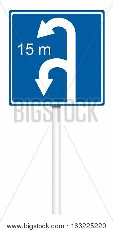 Informative Traffic Sign - To Turn Zone