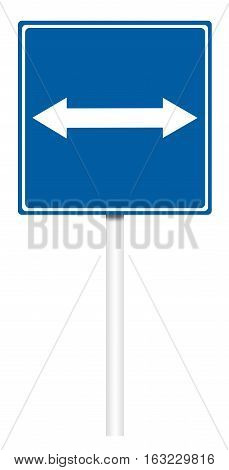Informative Traffic Sign - The Road With Reverse