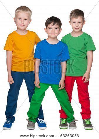 Fashion Smiling Little Friends