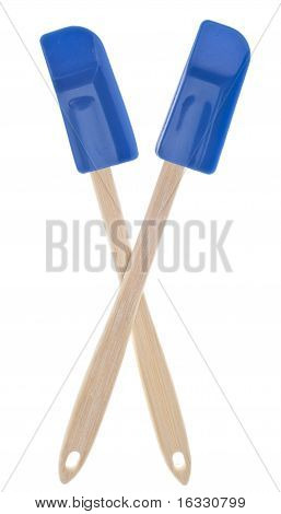 Blue Kitchen Spatula