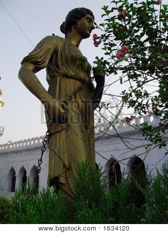 Roman Style Metal Statue