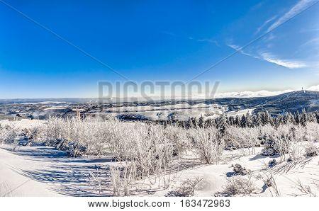 Landscape In Wintertime