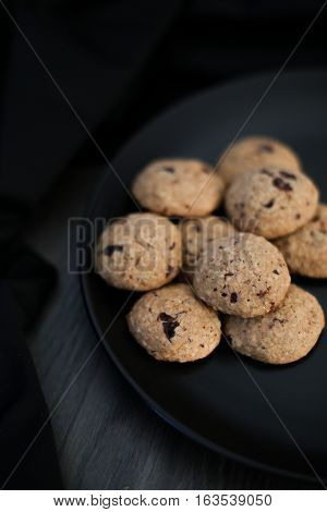 Home Made Chocolate Chip Paleo Cookies