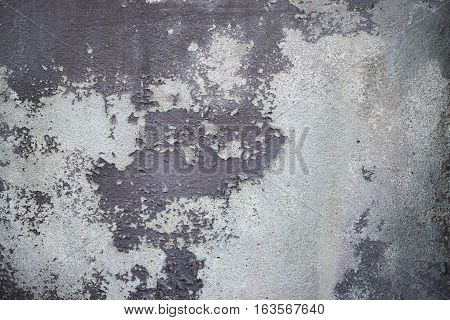 The Paint Is Peeling Off, Falling Apart, Damaged Wall, Background And Texture