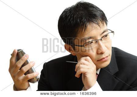 Planning Businessman