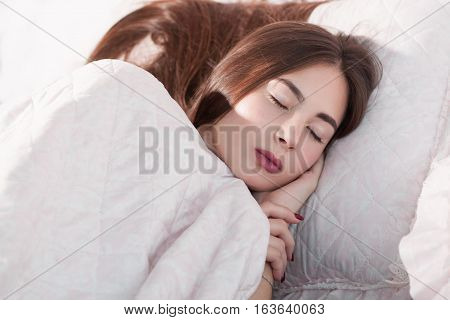 Sleep Dreaming Napping Bed Rest Relax Night Overworking Tiredness Exhaustion Concept