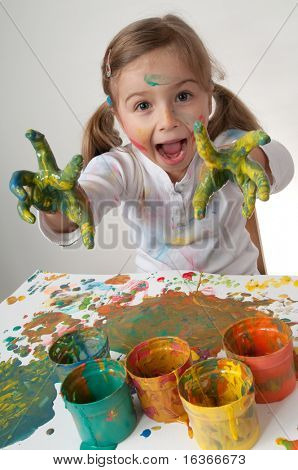 Creative painter