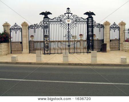 Gate. Entrance.