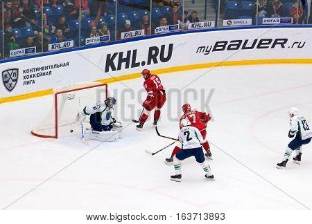 R. Horak (15) Scoreshot