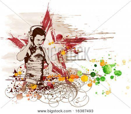 DJ Star & music colors mix