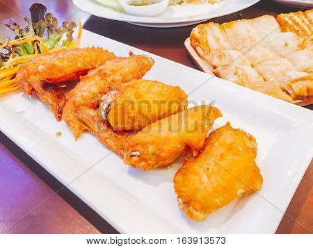 Fried Chicken With Fish Sauce