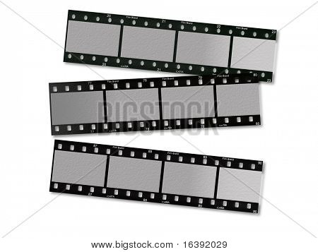three film strips