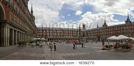 Plaza Mayor, Pano