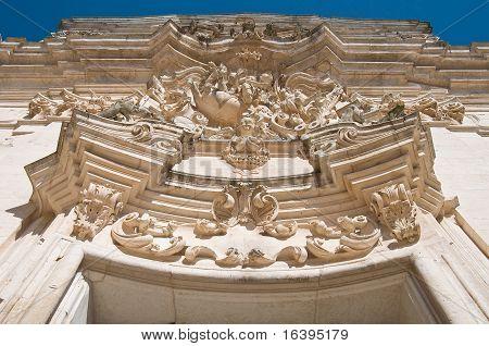 St. Martino Basilica. Martina Franca. Apulia.