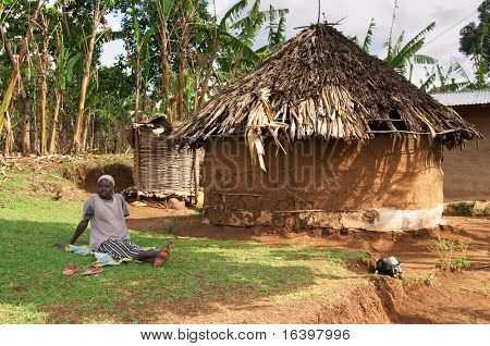 Traditional african hut