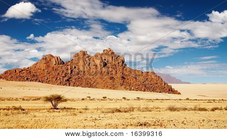 Rocks of Namib Desert, Namibia