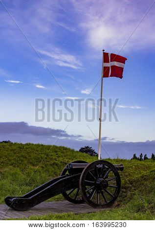 The old Danish fortification. Shot in Denmark