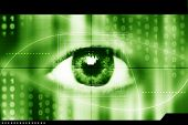 an eye scan as concept for secure digital identity