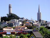 San Francisco Landmarks poster