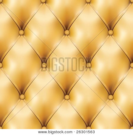 Vector image. Sepia leather background.