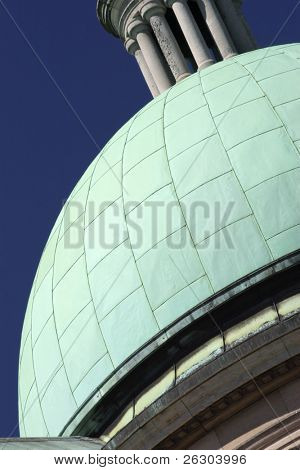 City hall spire, Hull, Uk