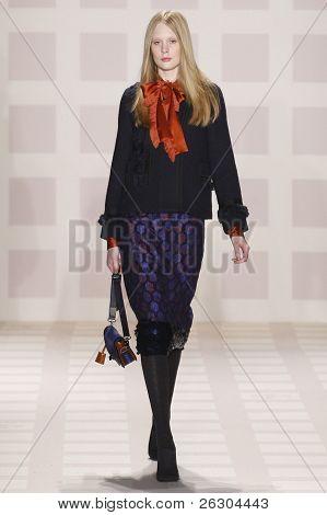 Tory Burch Fall/winter 2011 Collection - Runway - New York Fashion Week