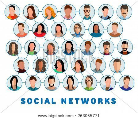 Social Networks Connected People And