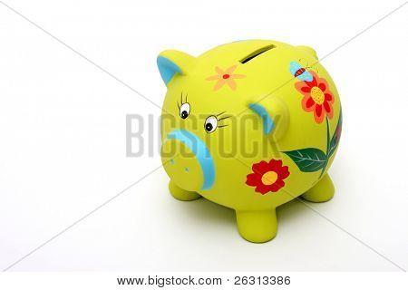 Green piggybank