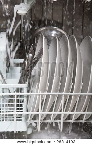 Inside of dishwasher 3