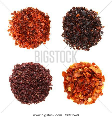 Spieces Aleppo Flakes Urfa Flakes Red-Black Pepper Sumach Red Hot Chilli