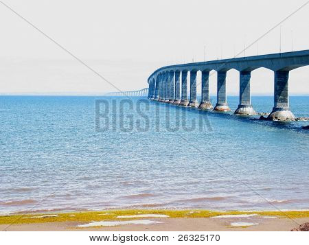 Confederation Bridge at Low Tide