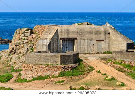 German Atlantic Wall Bunker, Jersey