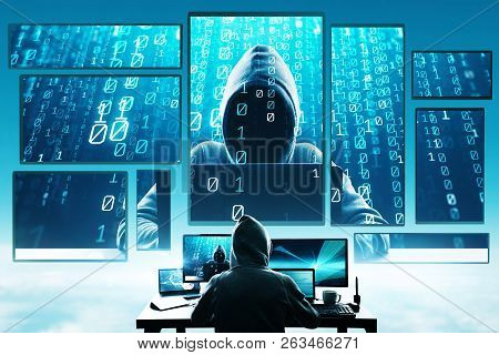 Hacking And Phishing Concept