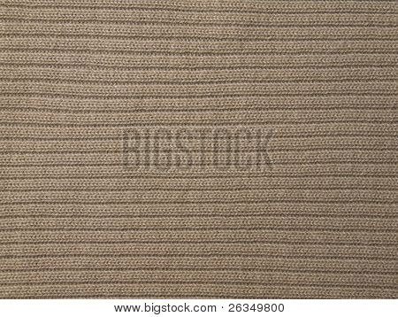 Texture of woolen