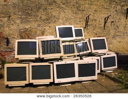 old monitors