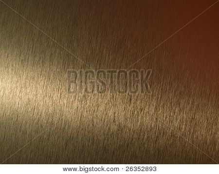 Photo of a real metal surface