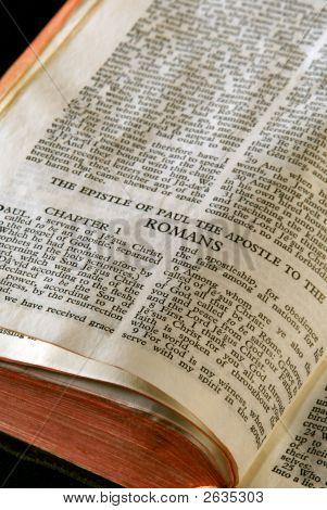 Bíblia série romanos