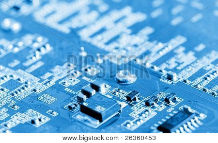 Pc computer motherboard photo