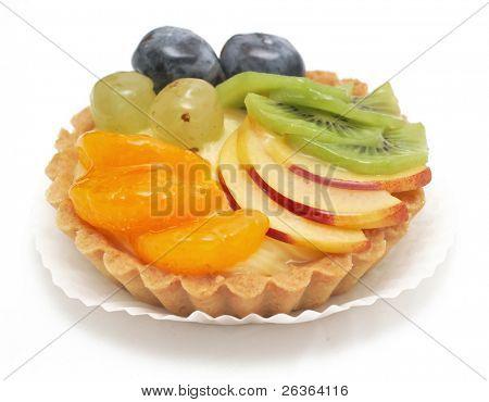 delicious mixed fruit tart