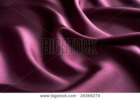 smooth purple satin