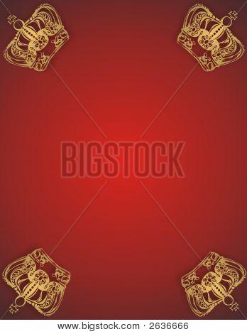 Golden Crown Frame