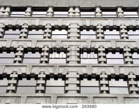 Office Windows Stone Pattern