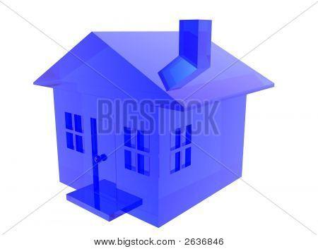 Blue Glass House