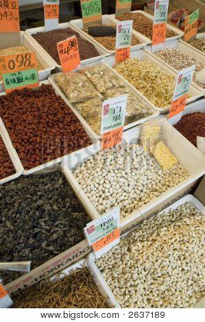 China Market Produce