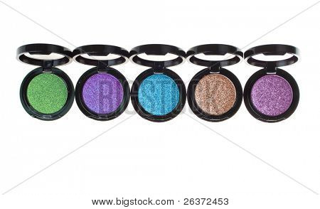 colorful eyeshadow; beautiful makeup accessories