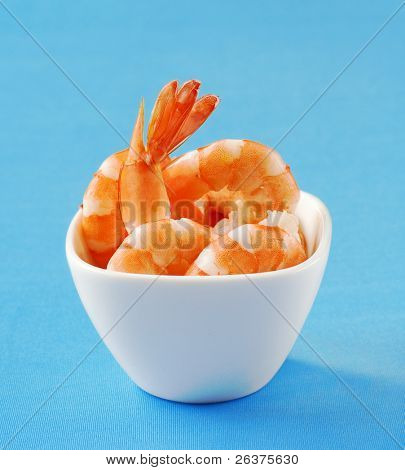 delicious shrimps