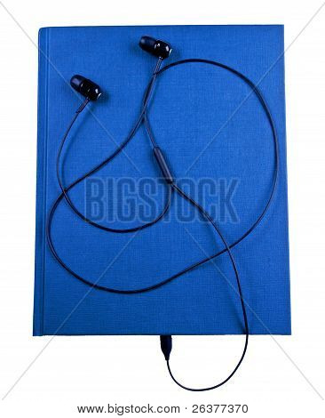 Earbuds With Notebook