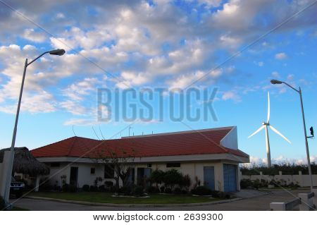 Wind Farm Substation